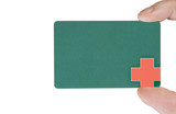 Medical Business Card. Isolated on white. poster