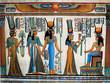 Leinwanddruck Bild Egyptian papyrus