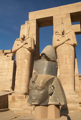 Head of the statue of Ramesses II