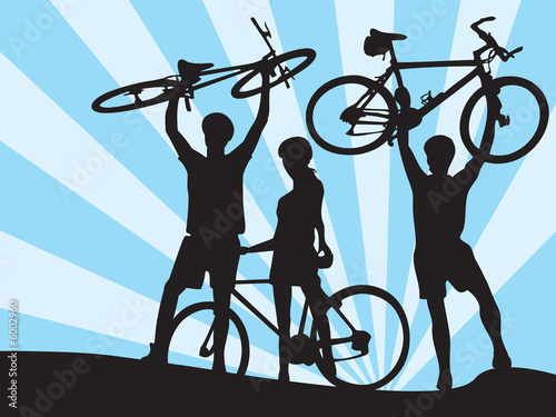 bicycles and boys and girl 2