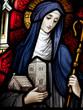 Leinwandbild Motiv Saint Brigid of Kildare