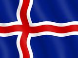 Flag of Iceland poster