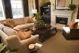Cozy luxury living room. poster