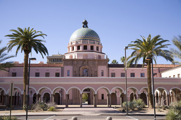 Pima County courthouse in Tucson, Arizona