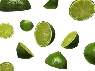 fallende limonen