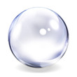 Transparent Glass Sphere - 6018533