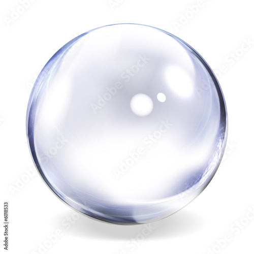 Transparent Glass Sphere