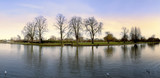 The river avon stratford-upon-avon warwickshire england uk, poster