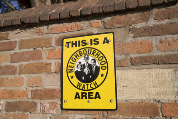 A neighbourhood watch sign.