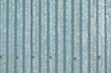 large sheet of galvanised or corrugated iron poster