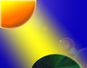 Abstract Space Style Background
