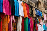 Clothing for sale in Cairo Bazaar poster