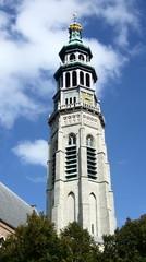 Lange Jan en Nieuwe Kerk Middelburg/Zeeland/Niederlande