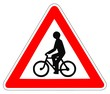 Panneau de Signalisation (Cycliste - A21)
