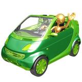 Fototapety Green Auto