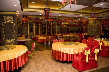 Lunar New Year Decorations Chinese Restaurant China
