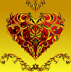 Heart-shape design