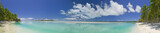 Tropical Dream Beach Paradise Panoramic of the South Pacific - 6036968