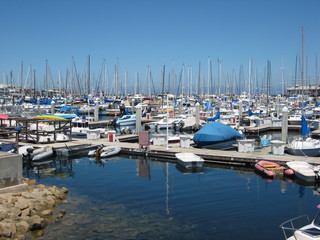 Marina in Monterey, California