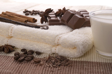 sensuality spa chocolate aromatherapy items