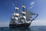 Sailing Ship at Sea under full sail - 6041339