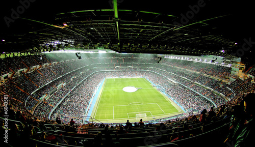 Deurstickers Stadion foot ball stadium