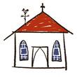 dessin église