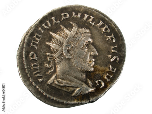 Ancient Roman Silver Coin