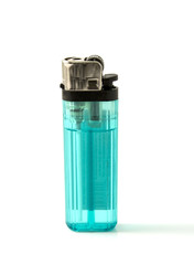 A sigarette lighter isolated on a white background