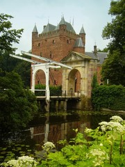 Gatehouse outside Brooklyn near Utrecht