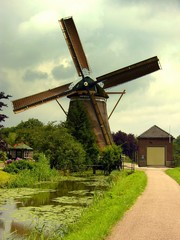 Dutch windmill outside utrecht