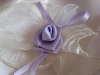 wedding-rosa segnaposto per cerimonia