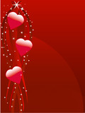 Sparkly love poster