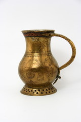 ancient bronze jug