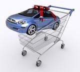 Shopping Cart (Buying Car) poster