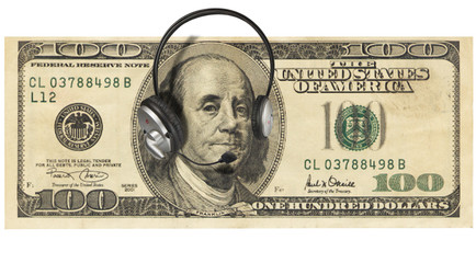 Money with Headphones