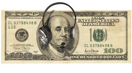 Money with Headphones