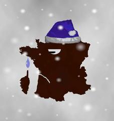 La France a froid