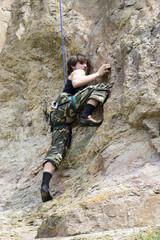 Climber, Rock Climbing Sport