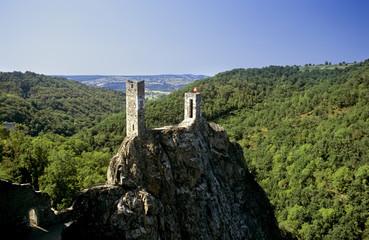 A castle on hill peyrusse le roc lot et garonne france