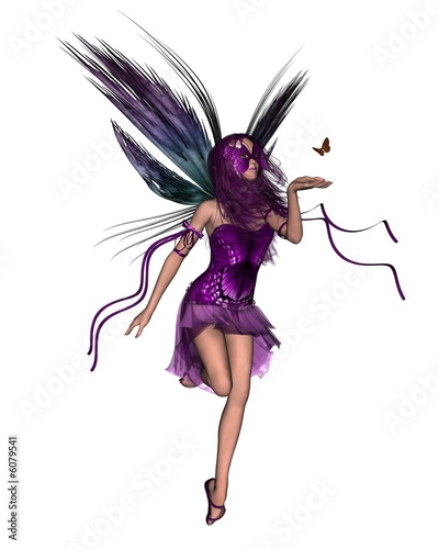 Butterfly Fairy - Purple