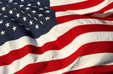 a close up picture of an american flag - 6079762