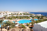 Swimming pool in luxurious Sharm el Shekh Hotel