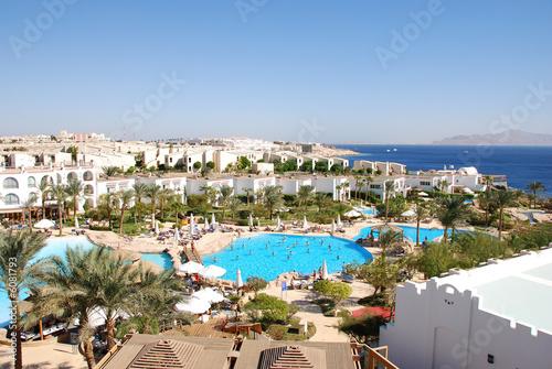 Swimming pool in luxurious Sharm el Shekh Hotel - 6081793