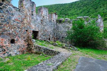 18th Century Ruins at Annaberg Plantation