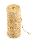 rope coil studio isolated over white poster