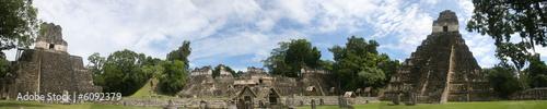 Papiers peints Amérique Centrale Tikal - Grans Plaza