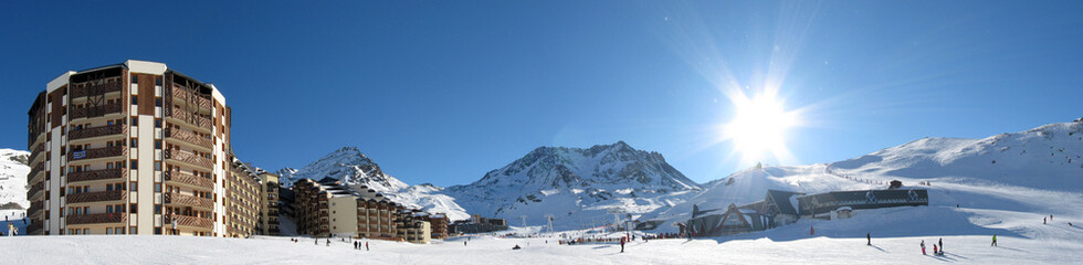 Val Thorens, Europes highest ski resort