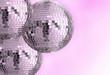 retro disco balls