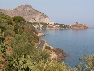 Cefalu view from East